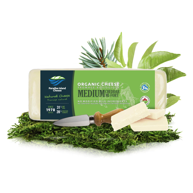 Organic Medium Cheddar